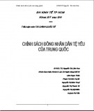 Tiểu luận Tài chính quốc tế: Chính sách đồng tiền nhân dân tệ yếu của Trung Quốc