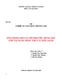 Tiểu luận nghiệp vụ ngân hàng thương mại: Sản phẩm cho vay hỗ trợ tiêu dùng trả góp tại ngân hàng TMCP Á Châu (ACB)