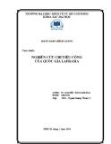 Tiểu luận tài chính công: Nghiên cứu chi tiêu công của quốc gia Lafrasia