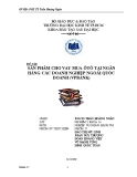 Đề tài: Sản phẩm cho vay mua ôtô tại ngân hàng các doanh nghiệp ngoài quốc doanh (VPBANK)