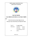 Tiểu luận tài chính ngân hàng và sự phát triển: Phân tích nhu cầu tài trợ của doanh nghiệp nhỏ và vừa (Trường hợp Công ty cổ phần thương mại xuất nhập khẩu Việt Hàn)