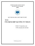 Tiểu luận Quản trị thay đổi và phát triển tổ chức: Ứng dụng ERP tại công ty Vissan