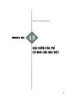 Module Mầm non 15: Đặc điểm của trẻ có nhu cầu đặc biệt - Trần Thị Minh Thành