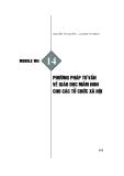 Module Mầm non 14: Phương pháp tư vấn về giáo dục mầm non cho các tổ chức xã hội - Nguyễn Thị Quyên, Lương Thị Bình