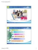Bài giảng Tin học ứng dụng - Chương 1: Phân tích dữ liệu nghiên cứu với SPSS