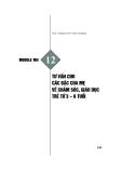 Module Mầm non 12: Tư vấn cho các bậc cha mẹ về chăm sóc, giáo dục trẻ từ 3 - 6 tuổi - Th.S. Hoàng Thị Thu Hương