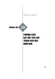 Module Mầm non 20: Phương pháp dạy học tích cực trong giáo dục mầm non - Nguyễn Thị Cẩm Bích