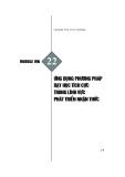 Module Mầm non 22: Ứng dụng phương pháp dạy học tích cực trong lĩnh vực phát triển nhận thức - Hoàng Thị Thu Hương