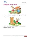 Truyện của bé: Thỏ nói dối