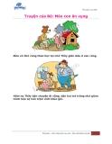 Truyện của Bé: Mèo con ăn vụng