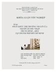 Khóa luận tốt nghiệp: Phân khúc thị trường nhà ở của người có thu nhập trung bình khá tại Thành phố Hồ Chí Minh
