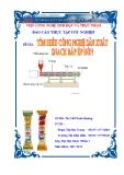 Báo cáo tốt nghiệp: Tìm hiểu về công nghệ sản xuất Snack bắp ép đùn