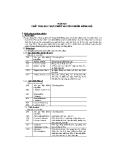 Báo cáo hóa học thực phẩm: Quy định của Bộ y tế về sử dụng chất phụ gia thực phẩm