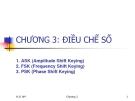 Bài giảng Tín hiệu số - Chương 3: Điều chế số