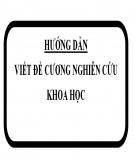 Hướng dẫn viết đề cương nghiên cứu khoa học / luận văn tốt nghiệp cao học - PGS. TS. Trần Kim Dung
