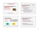 Bài giảng Phương pháp nghiên cứu và thực hiện luận văn thạc sĩ - ĐH Kinh tế Quốc dân