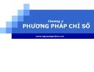 Bài giảng Nguyên lý thống kê: Chương 4 - Nguyễn Ngọc Lam
