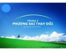 Bài giảng Kinh tế lượng: Chương 2 - Nguyễn Ngọc Lam