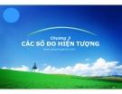 Bài giảng Nguyên lý thống kê: Chương 3 - Nguyễn Ngọc Lam