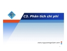 Bài giảng Kinh tế học sản xuất: Chương 3 - Nguyễn Ngọc Lam
