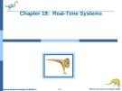 Bài giảng Hệ điều hành nâng cao - Chapter 19: Real - Time Systems