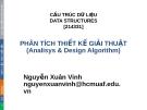 Bài giảng Cấu trúc dữ liệu: Chương 10 - Nguyễn Xuân Vinh