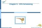 Bài giảng Hệ điều hành nâng cao - Chapter 5: CPU Scheduling