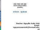 Bài giảng Cấu trúc dữ liệu: Chương 7 - Nguyễn Xuân Vinh