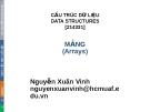 Bài giảng Cấu trúc dữ liệu: Chương 3 - Nguyễn Xuân Vinh