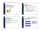Bài giảng Chương 7: Thông tin thích hợp cho việc ra quyết định - Vũ Hữu Đức