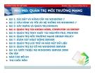 Bài giảng Quản trị môi trường mạng server: Bài 4 - TC Việt Khoa