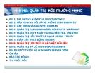 Bài giảng Quản trị môi trường mạng server: Bài 8 - TC Việt Khoa