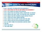 Bài giảng Quản trị môi trường mạng server: Bài 2 - TC Việt Khoa