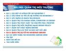 Bài giảng Quản trị môi trường mạng server: Bài 9 - TC Việt Khoa
