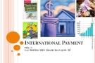 Bài giảng Cán cân thanh toán quốc tế: Phần 3 - ĐH Ngoại thương