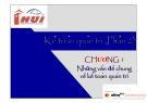 Bài giảng Kế toán quản trị: Chương 1 - ĐH Công nghiệp TP.HCM