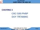 Bài giảng Ghép kênh tín hiệu số: Chương 3 - GV. Ngô Thu Trang