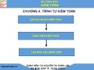 Bài giảng Kiểm toán: Chương 4 -  GV. Nguyễn Thị Chinh Lam