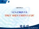 Bài giảng Quản trị chiến lược: Chương 5 - GS.TS Bùi Xuân Phong