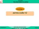 Bài giảng Truyền sóng và anten: Chương 5 - GV. Nguyễn Viết Minh