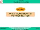 Bài giảng Truyền sóng và anten: Chương 8 - GV. Nguyễn Viết Minh