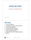 Bài giảng Tin học đại cương: Chương 3 - Trần Quang Hải Bằng