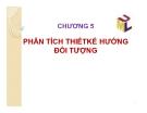 Bài giảng Công nghệ phần mềm: Chương 5 - GV. Trần Thị Thúy Nga