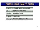 Bài giảng Toán kinh tế: Phần 2 - Nguyễn Ngọc Lam