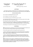 Quyết định số 28/2013/QĐ-UBND tỉnh Đắk Lắk