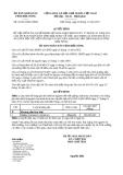 Quyết định 22/2013/QĐ-UBND bổ sung Quyết định 03/2013/QĐ-UBND