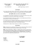 Quyết định 2161/QĐ-BTNMT năm 2013