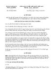 Quyết định 2278/QĐ-UBND năm 2013 tỉnh Lâm Đồng