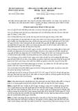 Quyết định 29/2013/QĐ-UBND tỉnh Tuyên Quang