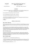 Nghị định 160/2013/NĐ-CP